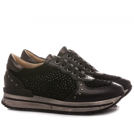 Chiara Luciani Children's Shoes Sneakers 1614 Black
