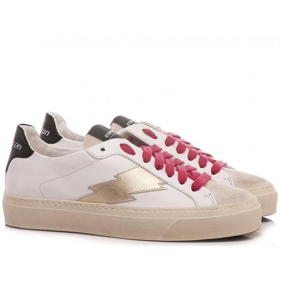 Stokton Women's Sneakers Leather White BLAZE-D-SS21 Desenzano