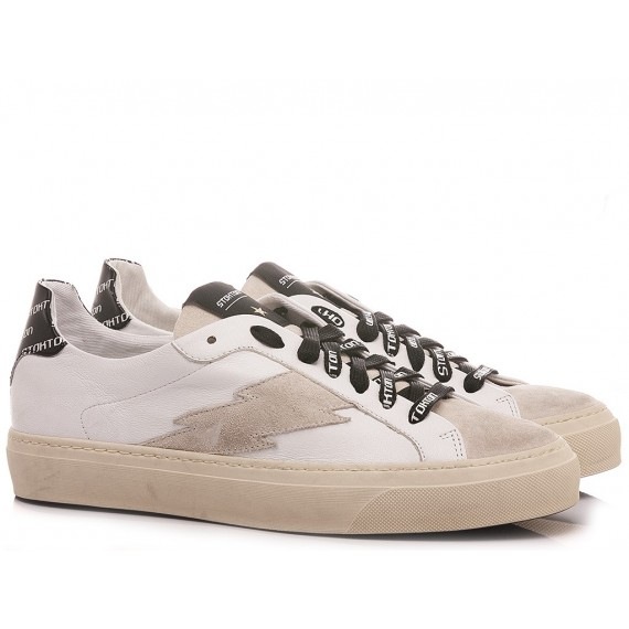 Stokton Men's Sneakers Leather Blaze-U-SS21 Bologna