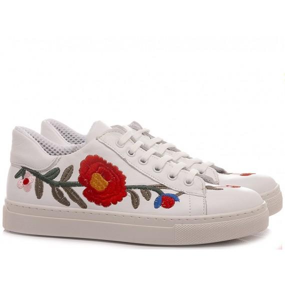 Giacko Women's Sneakers Leather White