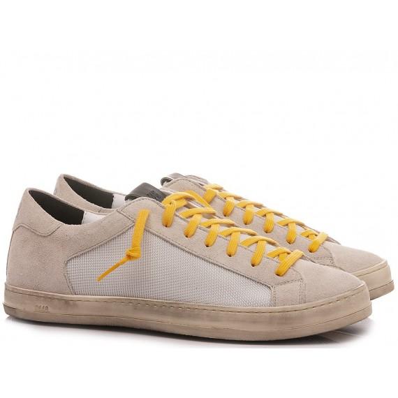 P448 Men's Low Sneakers S21Jhon-M Inox