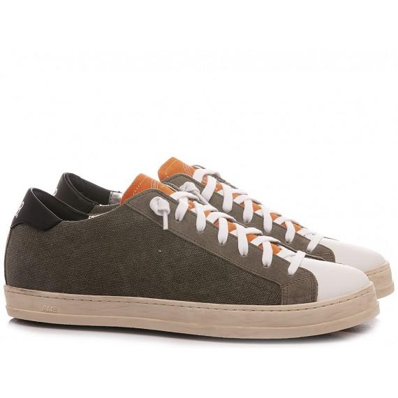 P448 Men's Low Sneakers S21Jhon-M Green