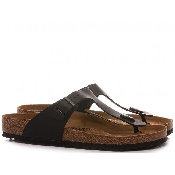 Birkenstock Women's Sandals-Slippers Gizeh BS Black