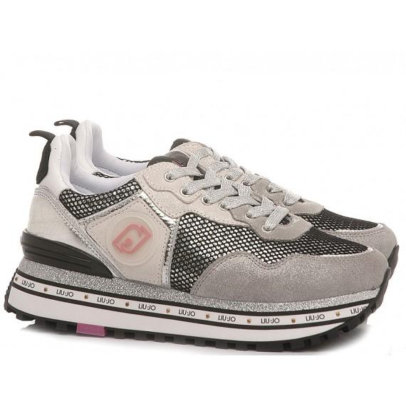 Liu.Jo Women's Sneakers Wonder Maxi 1 Grey
