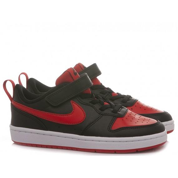 Nike Children's Sneakers Court Borough Low 2 (PSV) Black