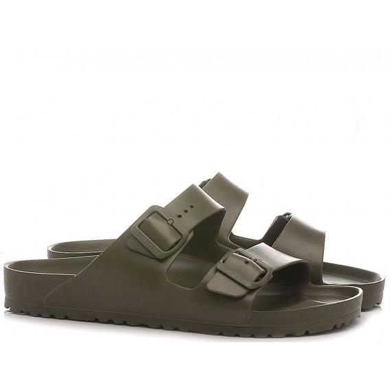 Birkenstock Men's Sandals Arizona Eva Khaki