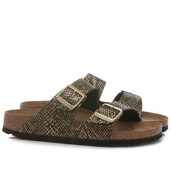 Birkenstock Women's Sandals Arizona BS 1019372 Shiny Python