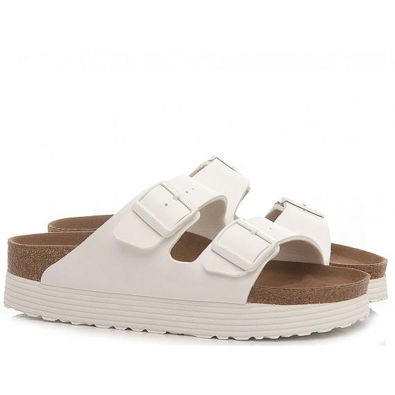 Papillio Women's Slippers Arizona Grooved White 1018581