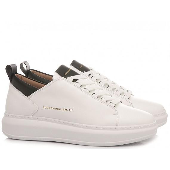 Alexander Smith Women's Sneakers W107481 White-Black