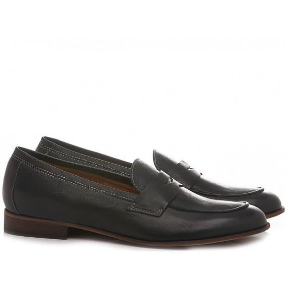 MAT:20 Women's Loafers Leather West Marino 7000