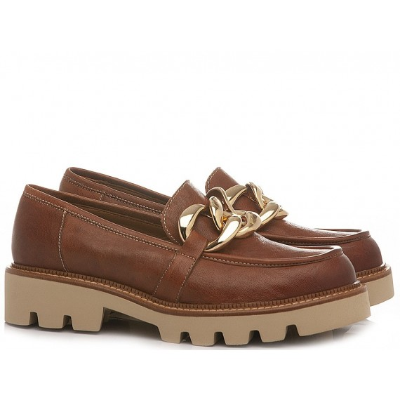 MAT:20 Women's Loafers Leather West Tan 3256