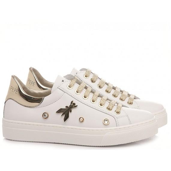 Patrizia Pepe Children's Shoes Sneakers PPJ55.27 White