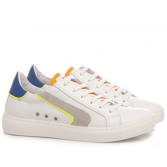Ciao Children's Sneakers Leather White C4789.36