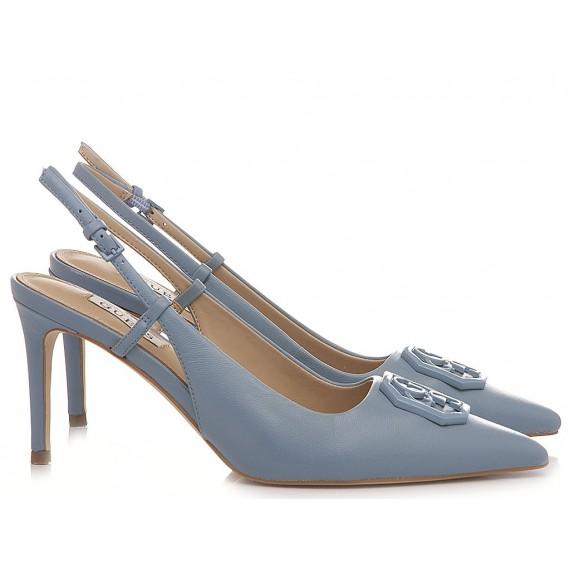 Guess Women's Shoes Chanel Blue