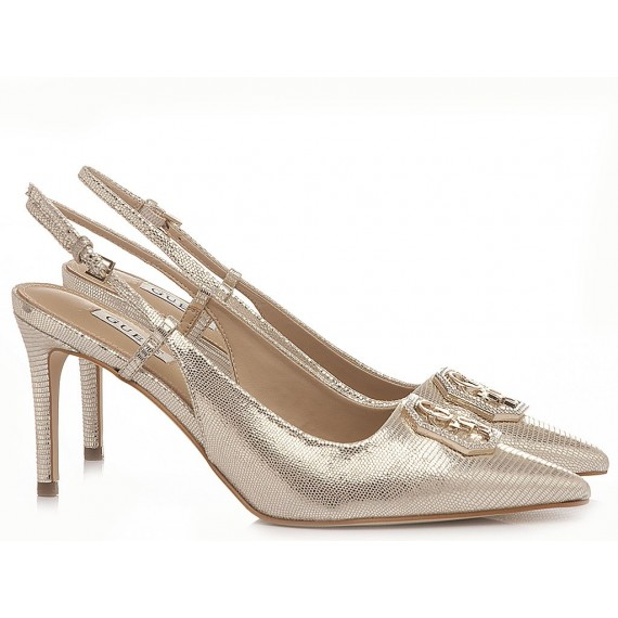 Guess Women's Shoes Chanel Gold
