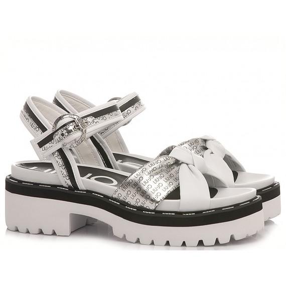 Liu.Jo Women's Sandals Pink Summer 8 White