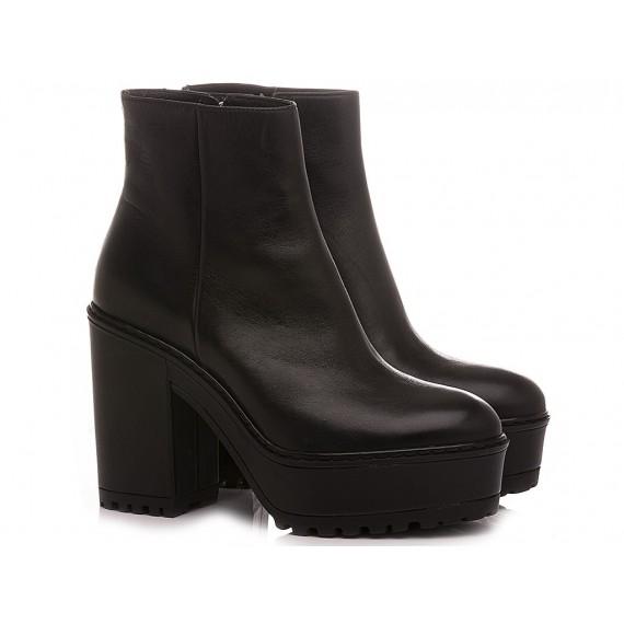 Janet Sport Women's Ankle Boots 40879 Black
