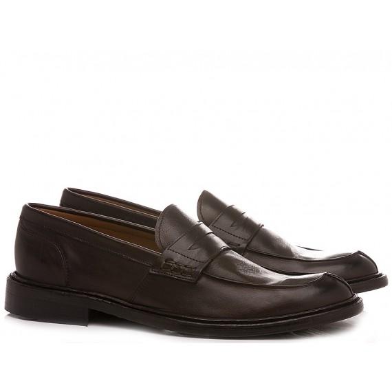 Franco Fedele Men's Loafers 6469 Ebony