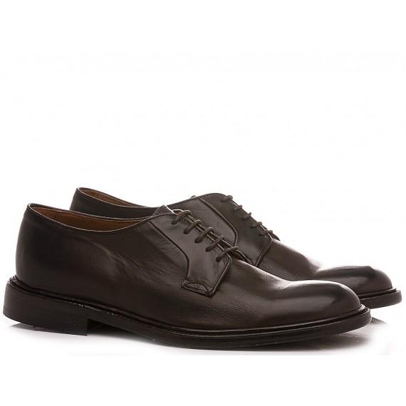 Franco Fedele Men's Classic Shoes Leather Ebony 6436