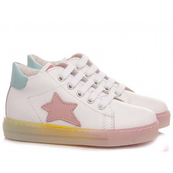 Falcotto Children's Shoes Sneakers Sasha White