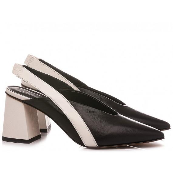 Laura Bellariva Scarpe Chanel Donna Nero-Bianco 6720B-3