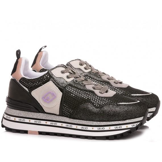 Liu.Jo Women's Sneakers Maxi Wonder 1 Black