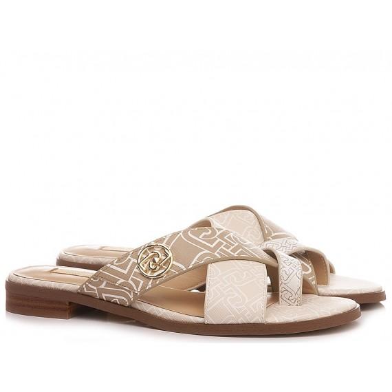 Liu.Jo Women's Sandals Erin 6 White-Milk