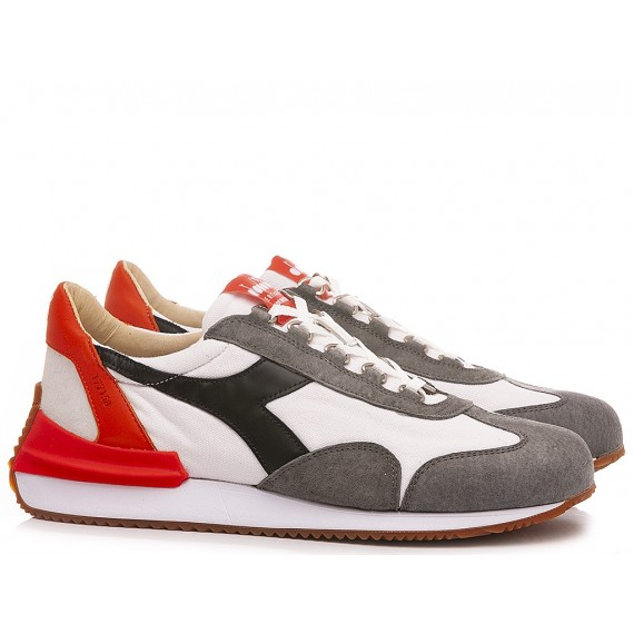 Diadora Men's Sneakers Equipe Mad Italia White