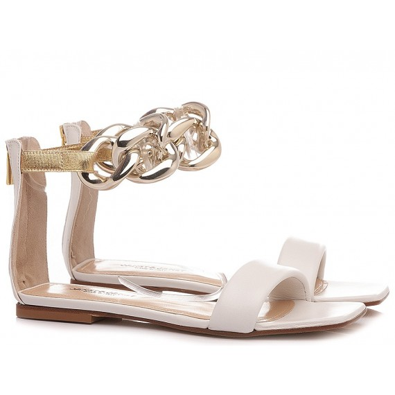 Janet & Janet Women's Sandals Andromeda White 01103