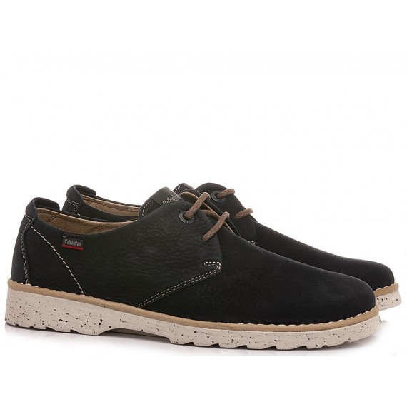 Callaghan Men's Shoes Leather Navy 17600