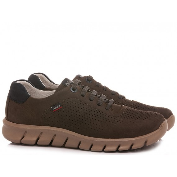 Callaghan Men's Shoes Leather Grey-Navy 47000
