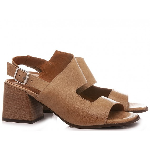 MAT:20 Women's Sandals Leather Tan 6504