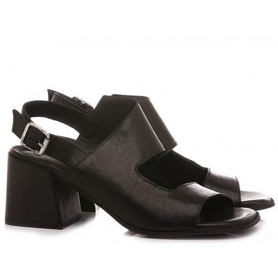 MAT:20 Women's Sandals Leather Black 6504