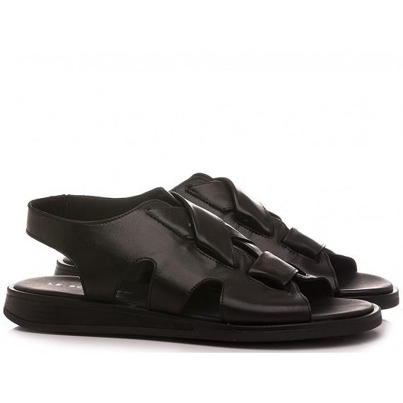 Le Bohèmien Women's Sandals Leather Black S47