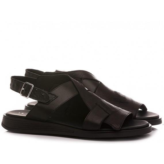 Le Bohèmien Women's Sandals Leather Black S50
