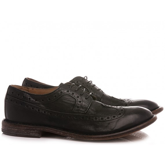 Moma Men's Shoes Leather Black 2AS132-BA