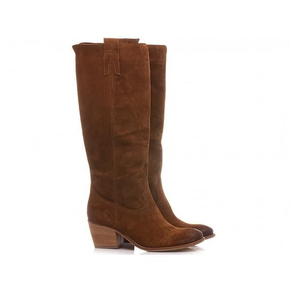 Curiositè Women's Western Boots Suede 1765