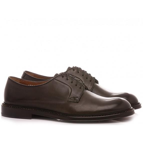 Doucal's Men's Shoes Leather Dark Brown DU1385