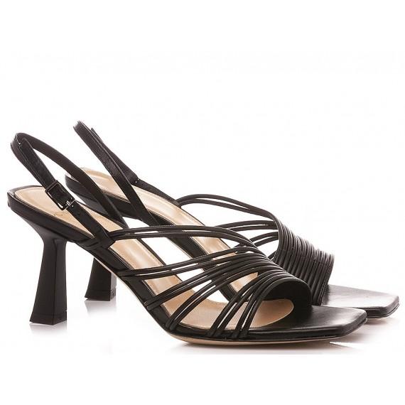 Chantal 1962 Woman's Sandals Black 1403