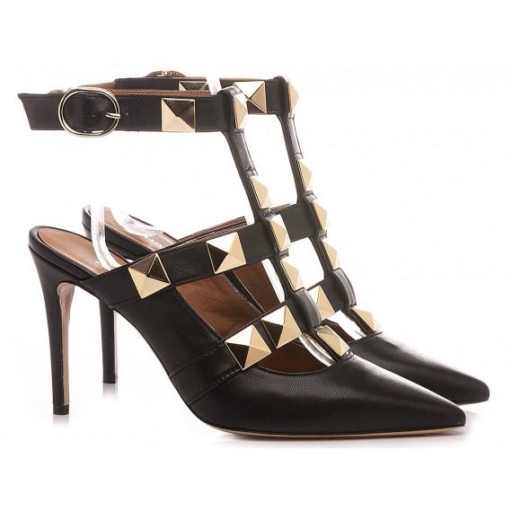 Martina T Women's Shoes Leather Black C902