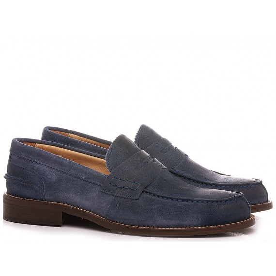 Exton Men's Loafers Suede Denim 3052