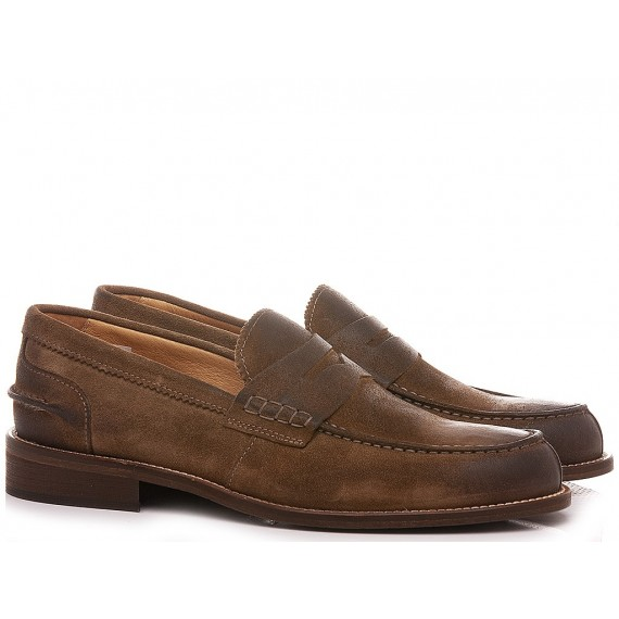Exton Men's Loafers Suede Brown 3052