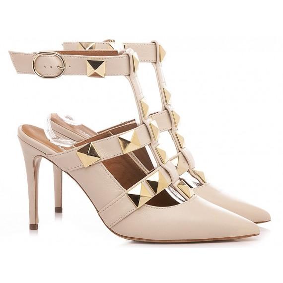 Martina T Women's Shoes Leather Cream C902