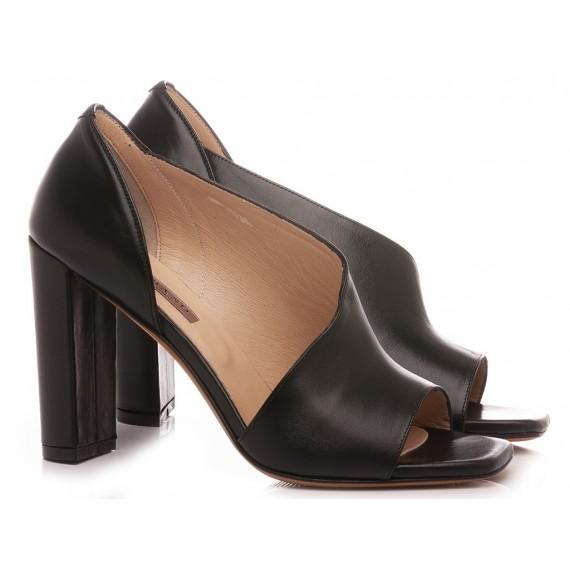 Albano Women's Sandals Leather Black 4264