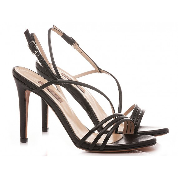 Albano Women's Sandals Leather Black 8075