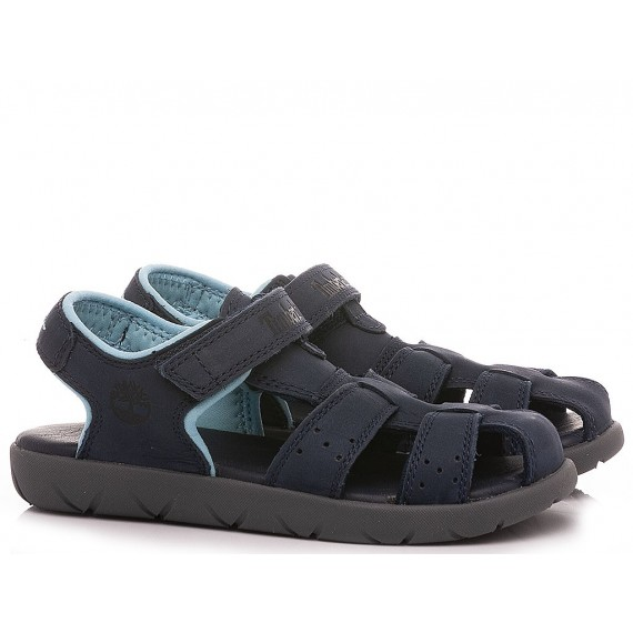 Timberland Children's Sandals TB042AS019 Navy