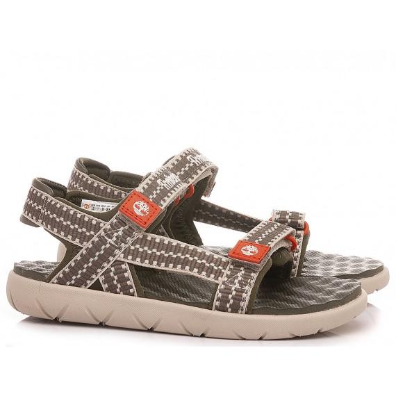 Timberland Children's Sandals TB0A2ARJ A58 Green