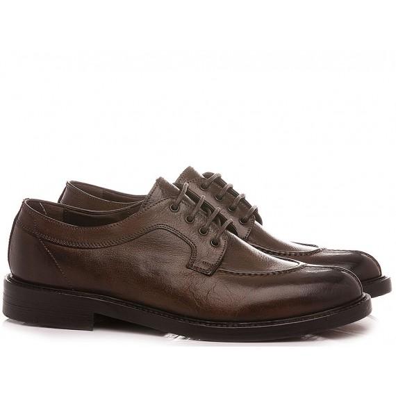 Brecos Men's Shoes  Leather Ebony 10134E21