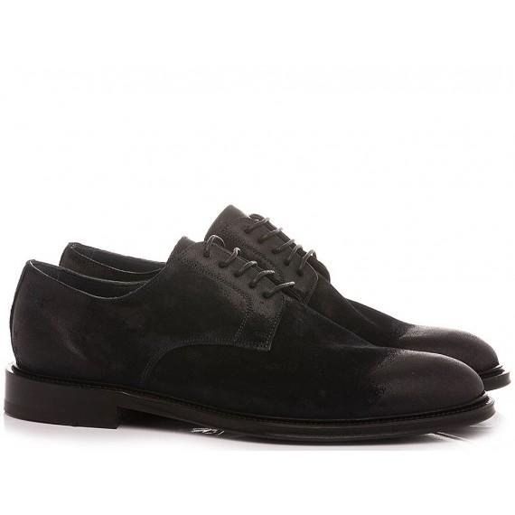Brecos Men's Shoes  Suede Navy 10051E21
