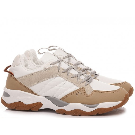 Frau Men's Sneakers Leather White 0801
